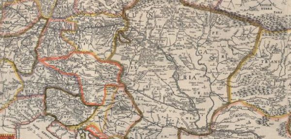 VÁLTOZÓ TEREK. A Duna menti térség történeti térképeken