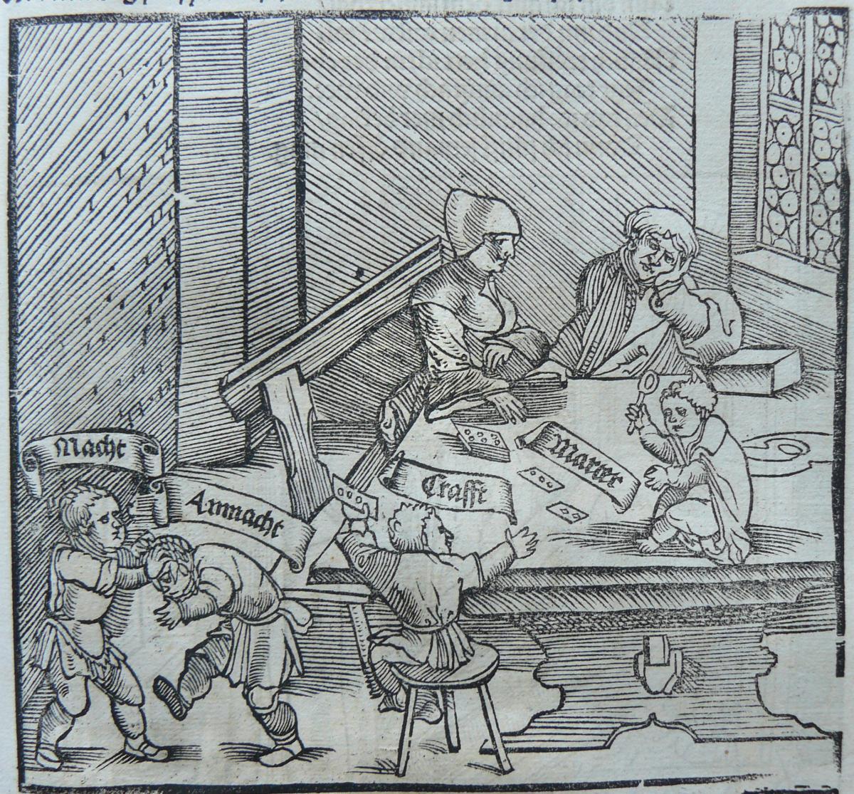 Der teütsch Cicero. Augsburg, 1535., 123v. Forrás: Országos Széchényi Könyvtár, Régi Nyomtatványok Tára