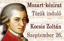 Nuevo manuscrito de Mozart