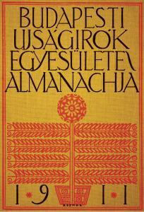 A Budapesti Újságírók Egyesülete Almanachja 1911