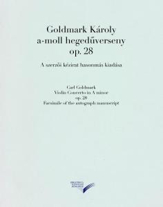 Goldmark Károly a-moll hegedűverseny op. 28.