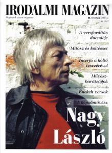 Irodalmi magazin 2015/2. Nagy László