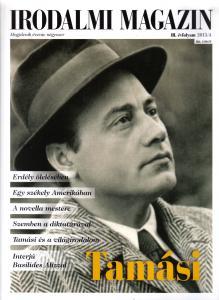 Literary Journal 2015/4. Áron Tamási
