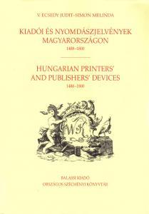Kiadói és nyomdászjelvények Magyarországon 1488–1800
