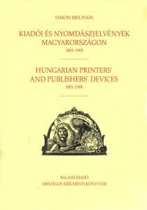 Kiadói és nyomdászjelvények Magyarországon 1801-1900