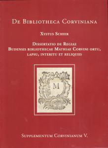 Dissertatio de Regiae Budensis bibliothecae...