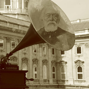Voice of Kossuth on a phonograph cylinder – festive speech dedicated to the inauguration of the monument of the Martyrs of Arad