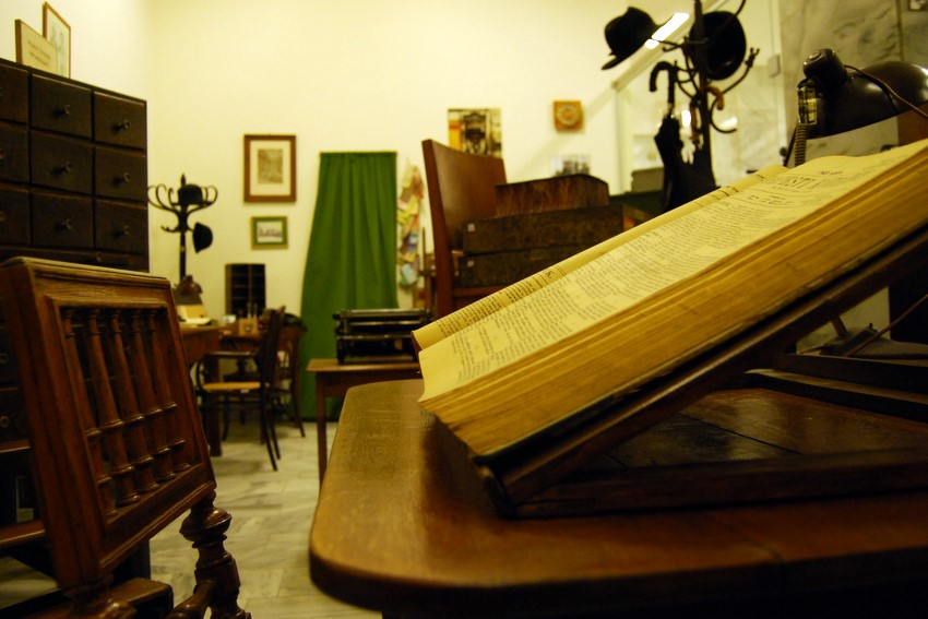 """Library of the nation – a workshop of service"". A selection from the material of the Museum of National Széchényi Library"