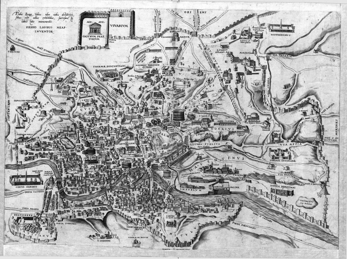 ókori róma térkép Országos Széchényi Könyvtár ókori róma térkép